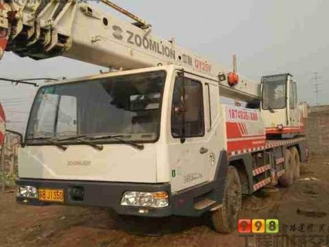 中联出售 25吨汽车吊 qy25v532 430000元