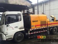 转让两台2012年三一重工9018车载泵