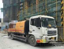 转让11年4月份的三一9018车载泵,东风天锦底盘,