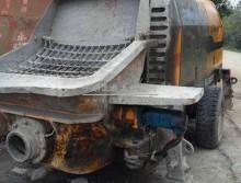 处理一台10年的中联80柴油拖泵