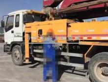 低价转让01年大象37米泵车