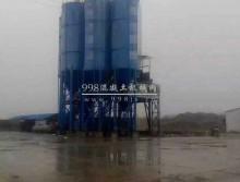 处理一套东北12年的上海华建180搅拌站