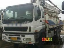 处理一台09年6月中联五十铃47米泵车