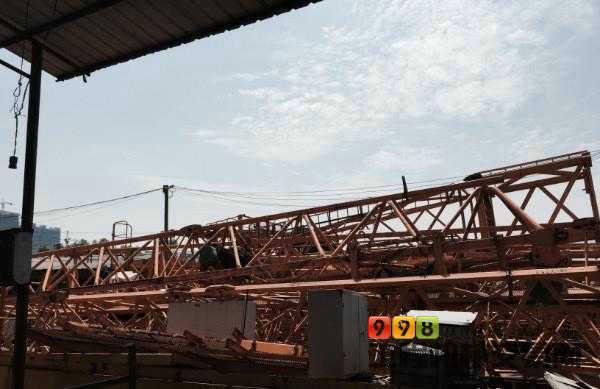 出售广西桂林长海6513塔吊