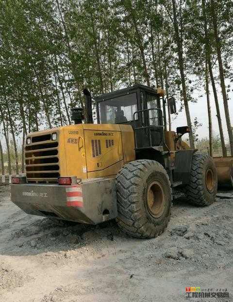 沧州二手装载机出售个人龙工855D装载机的图片